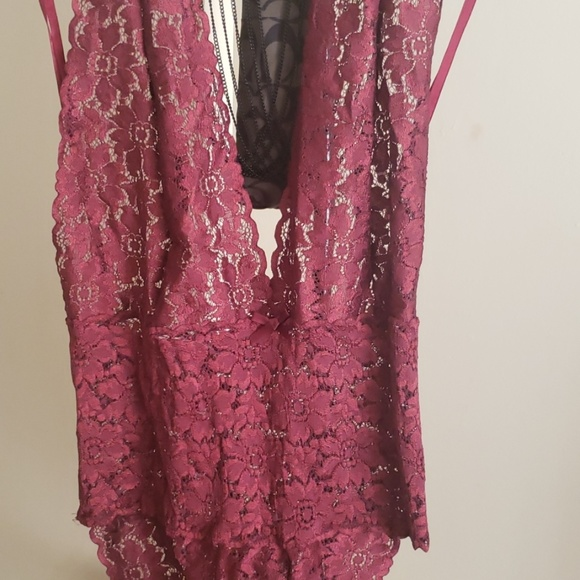 Victoria's Secret Other - Maroon Negligee